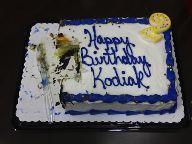 Kodiak Birthday Cake